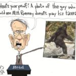 reid proof romney doesnt pay taxes