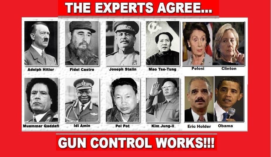 Gun control dictators